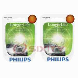 2 pc Philips Rear Side Marker Light Bulbs for Honda Accord Civic Civic del ix