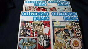 Collezionismo italiano  4 volumi CGE 1979