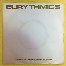 Eurythmics - It's Alright (Baby's Coming Back) - RCA PB-40375 Ex Condition