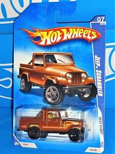 Hot Wheels 2009 Heat Fleet Series #123 Jeep Scrambler Mtflk Brown w/ OR5SPs