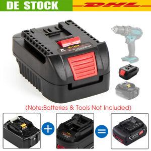 Battery Adapter Batterieadapter für Makita 18V Akku Konvertieren zu Bosch Tool
