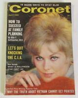 1965 April CORONET Magazine Kim Novak, Vietnam truth, Marty Allen, Steve Rossi