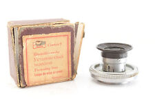 Contax Pentacon Camera Focus Magnifier Zeiss Ikon 2.7x In Original Box RARE