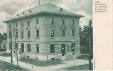 Early 1900's U.S. Post Office & Custom House in Florence, SC South Carolina PC