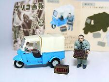 Glico Figure Collection Daihatsu MIDGET (DKA) 1957 Diorama Display Car KAIYODO