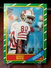 JERRY RICE 1986 TOPPS #161 RC ROOKIE CARD 49ers
