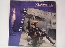 """KIM WILDE """"GO FOR IT / LOVERS ON A BEACH"""" 45w/PS MINT POSTER SLEEVE"""