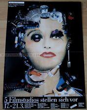 GERMAN POSTER 1990 - 5th FESTIVAL OF ANIMATED FILM * art print