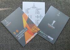 More details for manchester united v villarreal europa league final media guide press kit 26/5/21