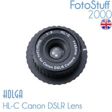 HOLGA HL-C Canon DSLR Holga Lens F8.0 60mm Black UK Stock HL C