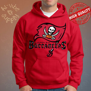 TAMPA BAY BUCCANEERS Champions Super Bowl 2021 Red Hoodie Size S-5XL - NFL Team