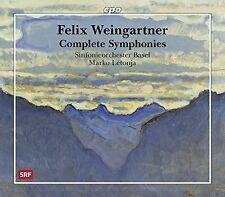 Weingartner / Basel Sym Orch / Letonja - Comp Syms [New SACD] Hybrid SACD