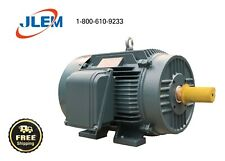 5 HP 1200 RPM 3 PHASE PREMIUM EFFICIENT ELECTRIC MOTOR 215T FREE SHIPPING