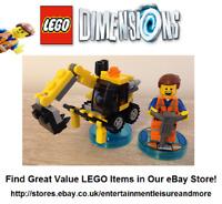 Genuine LEGO Dimensions LEGO Movie Emmet 71212 - Trusted Premium eBay Seller -