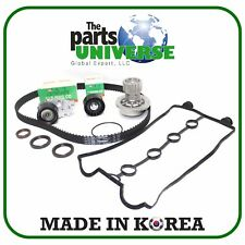 Timing Belt Kit For 04/08 Chevrolet Aveo Pontiac Wave5 Suzuki Swift 1.6L