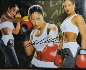 Layla Ali Authentic Autographed 8x10 Photo w/ COA