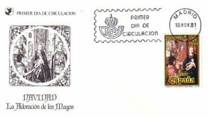Spain Navidad 1981 FDC cover (110)