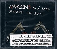 MAROON  5 LIVE FRIDAY THE 13th CD F.C.  SIGILLATO!!!