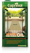 Cuprinol 5122414 UV Guard Decking Natural Oil - 5L