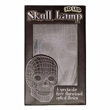Lamp/Mood Light ~ 3D Skull Lamp ~ 3 Dimensional Optical Illusion