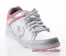 RARE Donna Ragazza Converse All Star Rosa in argento arma OX Scarpa Formatori taglia UK 5