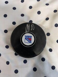 Artemi Panarin New York Rangers Autographed Official Puck - Fanatics Hologram