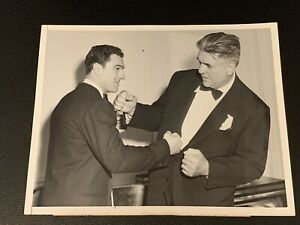 Stunningly Clean Original 1953 Rocky Marciano Type 1 Boxing Photo PSA Ready Mint