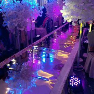 WeddingGeneral Shiny Gold 1.5M x 10 Meter Mirror carpet Aisle Runner For Party