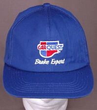 Car Quest Brake Expert Hat-Snapback Cap-Blue-Embroidered-Automotive-Garage Shop