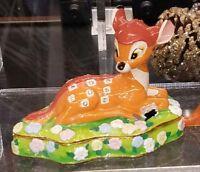 NEW Disney Parks ARRIBAS Bros Jeweled Bambi Hinged Trinket Box! Figure