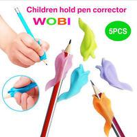 5X Dolphin Wobi Children Pencil Holder Student Pen Posture Correction XMAS GIFT