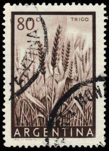 "ARGENTINA 634 - Wheat Crops ""1954 Photogravure"" (pb13367)"