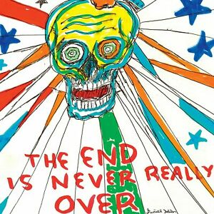 DANIEL JOHNSTON The End Is Never Really Over RSD Limited Edition 2-LP set NEW