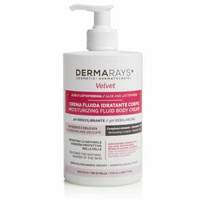DermaRays™ Velvet Body Moisturizing Cream Allantoin Vitamin E Free P+P 500ml
