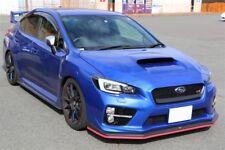 Sti Style Front Bumper Lip Protector Color Red For Subaru WRX Levorg STI