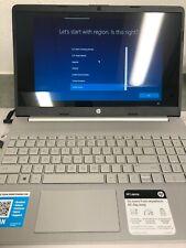 HP Laptop 15.6 15-dy1091wm Intel i3 10th Gen Dual-core 256gb SSD 8GB ram