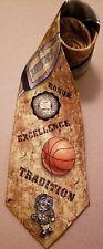 UNC Basketball Tie - University of North Carolina - Silk - Carolina Basketball