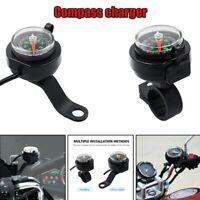 Motorcycle Compass Charger USB Waterproof Navigation Fast Charging Waterpro Q6N1