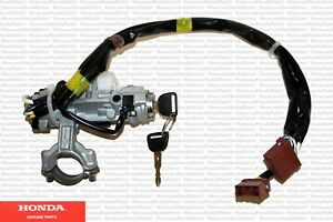Genuine Honda OEM Steering Lock And Ignition Switch w/Keys Fits: 1996-2000 Civic