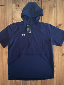 $75 Under Armour Men's Sz XL UA Team Evo Cage Short Sleeve Hoodie Jacket