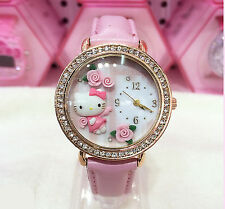 Women's Faux Leather Band Cartoon/Novelty Wristwatches