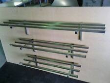 STAINLESS STEEL 1500X300 POT RACK/ STORAGE SHELF MADE FROM GRADE 304 25MM TUBE