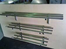 NEW STAINLESS STEEL COMMERCIAL SINGLE TUBE SHELF/POT RACK (1500x300mm) GRADE 304
