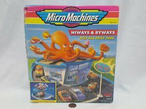 NEW (w/ Box Wear) Micro Machines Hiways & Byways DEEP SEA DRIVE-THRU Toy Sealed