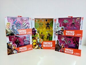 Fortnite Battle Royale Collection Duo Mini Figure Packs x 4 + 4 Pack - 12 Figure