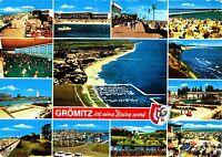 Grömitz , Ansichtskarte, 1973 gelaufen