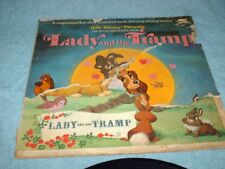lp record walt disney presents the story and songs from lady and the tramp 1962