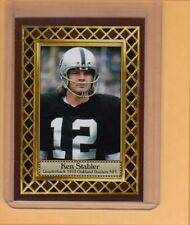 Kenny Stabler '73 Oakland Raiders, Fan Club serial numbered /300
