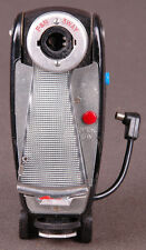 "Vtg P&B 3 Way flashbulb gun with tilting head, 6"" fanfold reflector-Sync Cord"