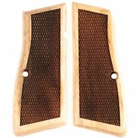GRIP FOR A BROWNING HIPOWER WOOD CHECKERED, OEM MANUFACTURER (TAR6001)